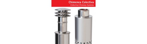 Collective chimney systems