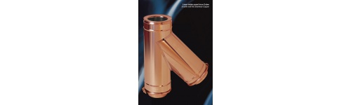 Double Wall AISI 304 Inox-Copper
