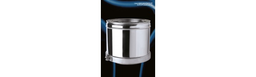 Doble pared Elite T600 inox AISI 316L-304